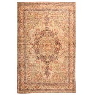 Antique 19th Century Persian Lavar Carpet For Sale