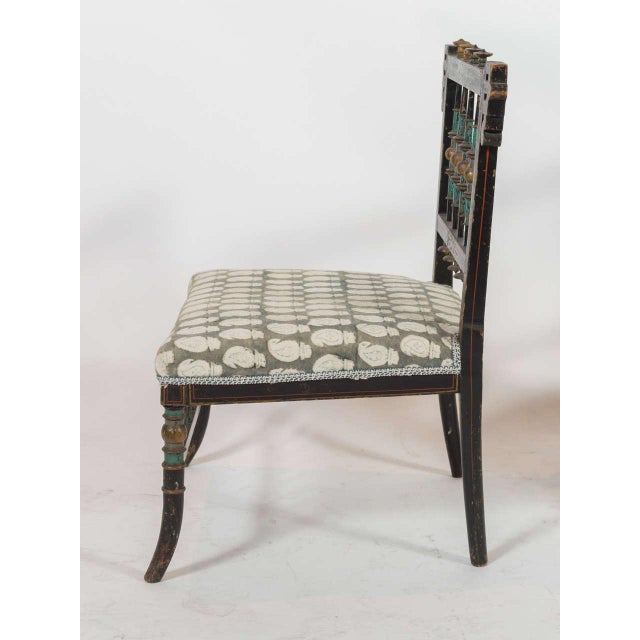 Early 20th Century Pair of Antique Parlor Chairs For Sale - Image 5 of 9