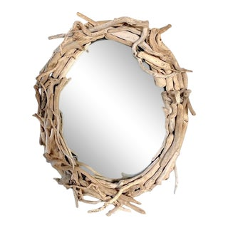 Large Driftwood Mirror For Sale
