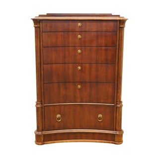 20th Century Traditional Bernhardt Furniture Opus XIX Collection 20th Century Traditional Chest of Drawers For Sale