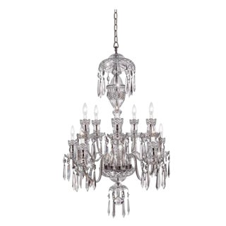 "Waterford Crystal 10 Arm ""Avoca"" Chandelier For Sale"