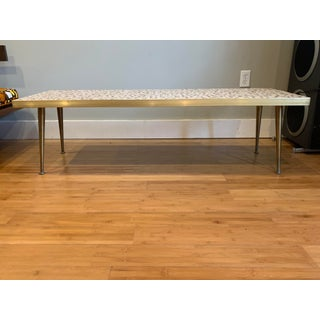 Mid Century Modern Tile Top Coffee Table Preview