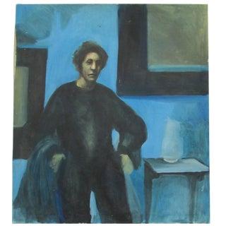 """Grim Jim"" Oil on Canvas For Sale"