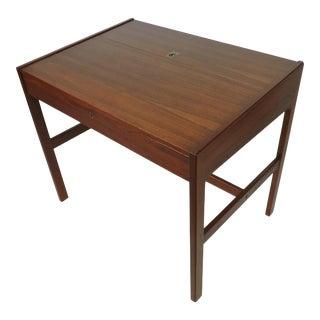 Arne Wahl Iversen Danish Modern Teak Writing Desk For Sale