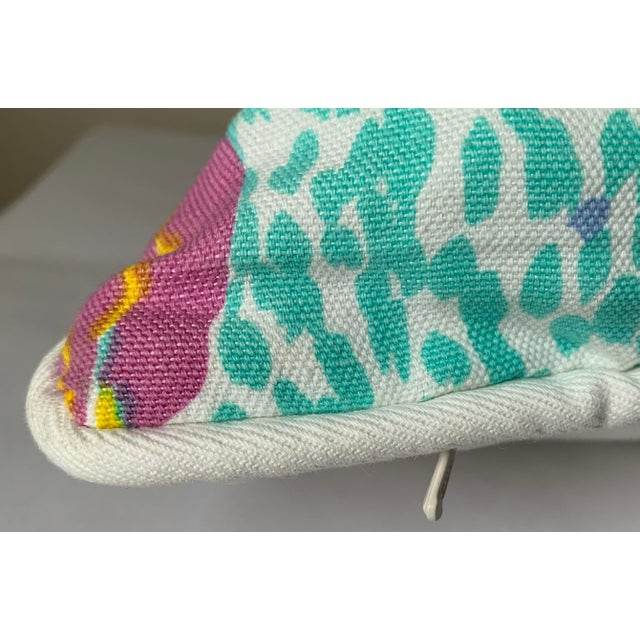 Pair of Paule Marrot Brunschwig Fils Custom Pillows For Sale - Image 9 of 13