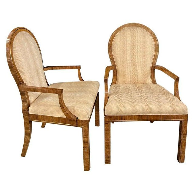 Milo Baughman Arm or Office Chairs, Mid-Century Modern, Mastercraft - a Pair For Sale - Image 12 of 12