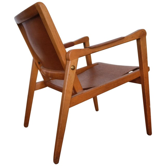 Axel Larsson Lounge Chair, Sweden, 1948 For Sale - Image 13 of 13