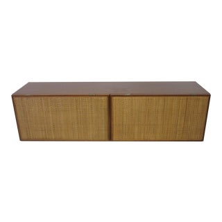 George Nelson Walnut Hanging Cabinet for Herman Miller For Sale