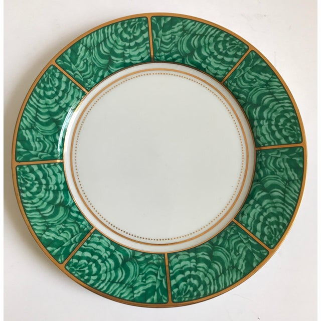 Georges Briard Imperial Malachite Plate - Image 5 of 5