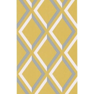 Cole & Son Pompeian Wallpaper Roll - Lime/Gr For Sale
