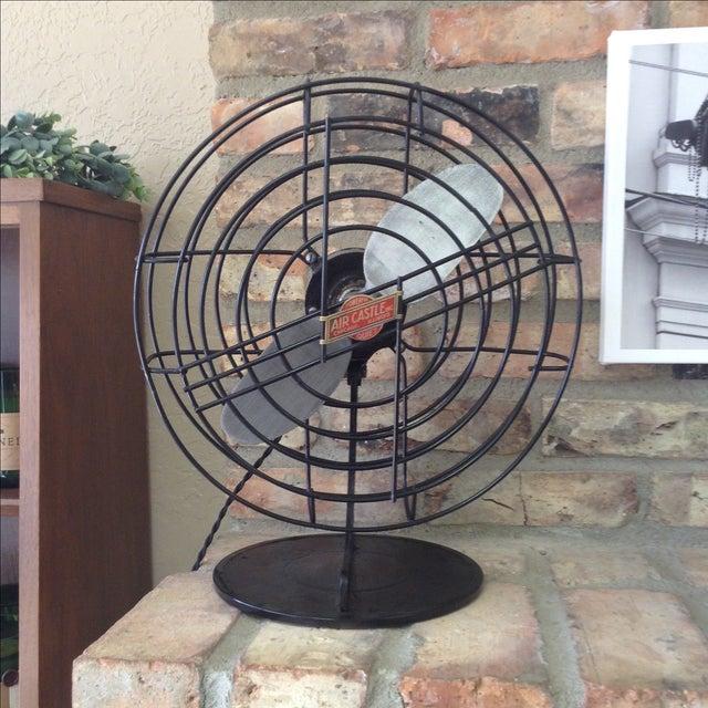 Vintage Air Castle Fan - Image 2 of 4