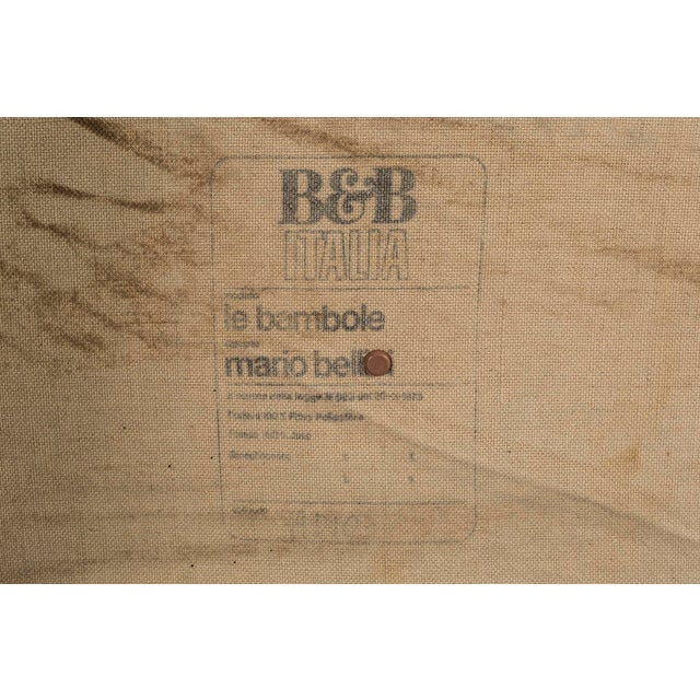 """Mario Bellini for B & B Italia """"Le Bambole"""" Sofa For Sale In Chicago - Image 6 of 7"""