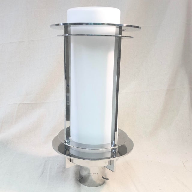 Kichler Pacific Edge Outdoor Post Lantern in Stainless Steel For Sale - Image 9 of 9