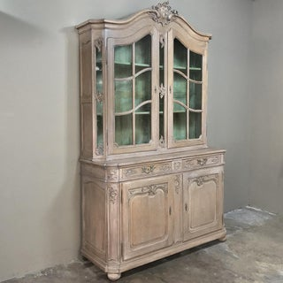 19th Century Country French Provincial Stripped Bookcase ~ Vitrine Preview