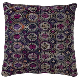 Vietnamese Hill Tribe Brocade Pillow For Sale