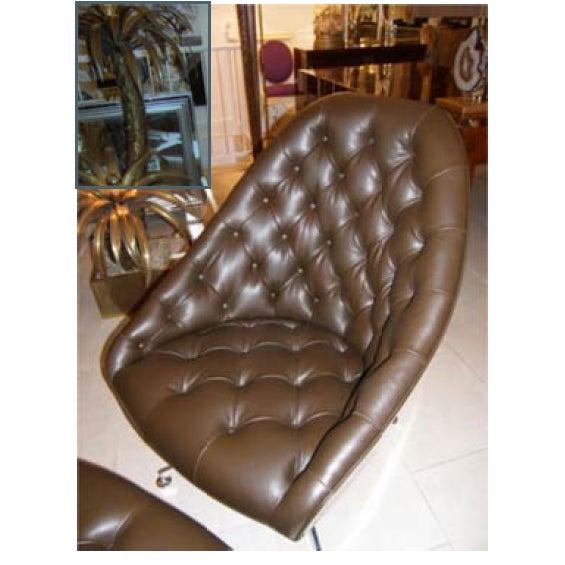 Milo Baughman Chair and Ottoman Set - Image 3 of 5
