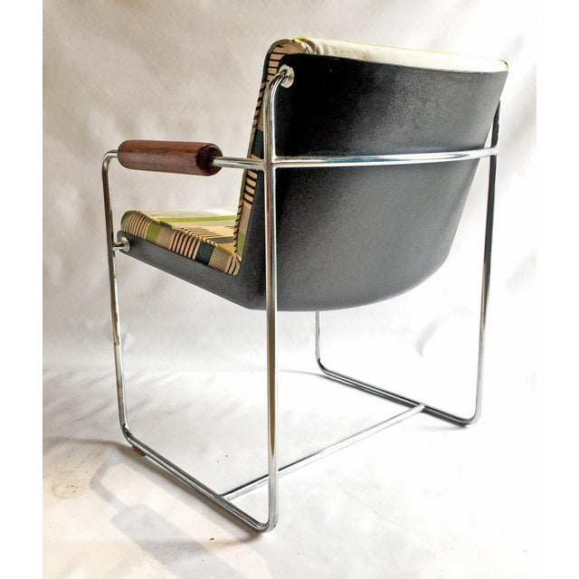 1960's Chrome Accent Chair - Image 4 of 6