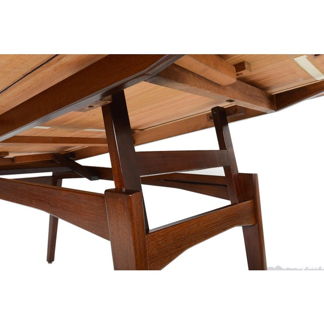 Danish Modern Rosewood Elevation Coffee Table - Image 8 of 8