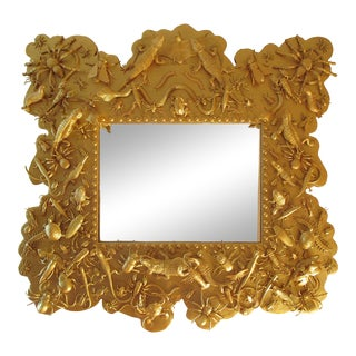 'Reptiles' Mirror by Diane Grant For Sale