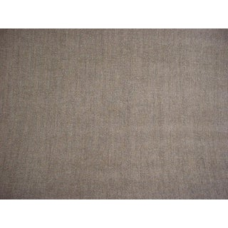 4-3/4y Rose Tarlow 2392 Quinn Loon Heavy Grey Chenille Upholstery Fabric For Sale
