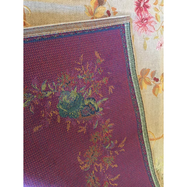 French Baroque Style Tapestry For Sale - Image 9 of 12