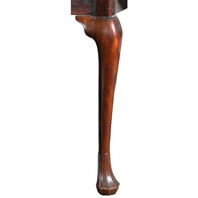 Mahogany Queen Anne Oval Dropleaf Table with Trifid Feet - Image 5 of 5