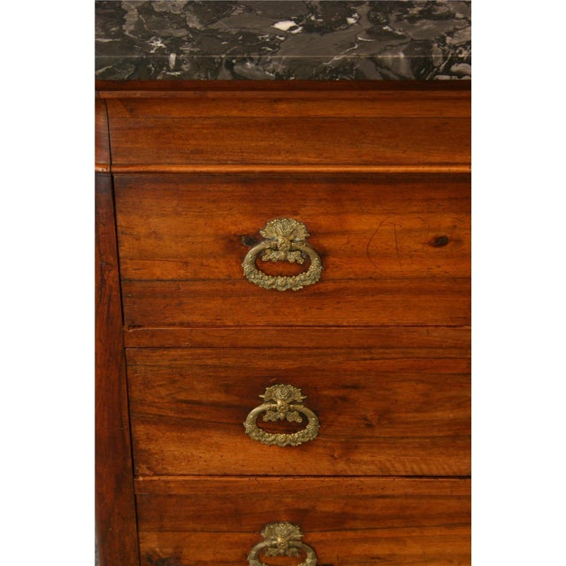 Neoclassical Antique Directoire-Style Chest of Drawers For Sale - Image 3 of 8