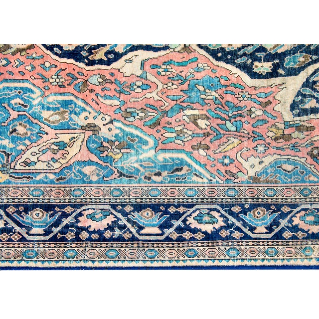 Late 19th Century Exquisite Late 19th Century Sarouk Farahan Rug For Sale - Image 5 of 7