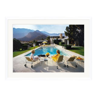"""Slim Aarons, """"Poolside Glamour,"""" January 1, 1970 Getty Images Gallery Framed Art Print For Sale"""