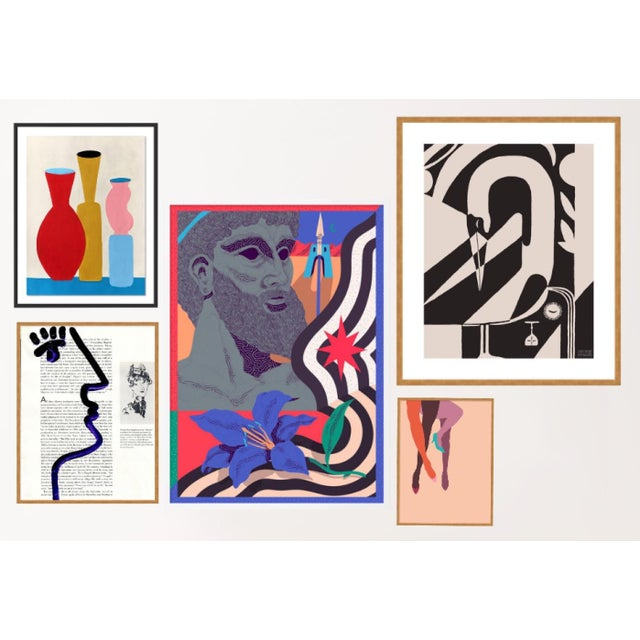 Delphi Gallery Wall, Set of 5 For Sale - Image 9 of 9