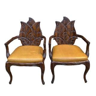 1970s Vintage Leaf Chair For Sale