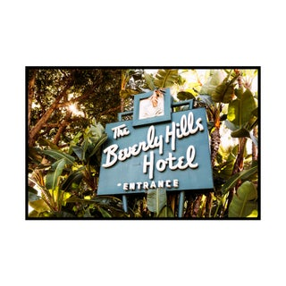 """Beverly Hills Hotel"" Original Framed Photograph"