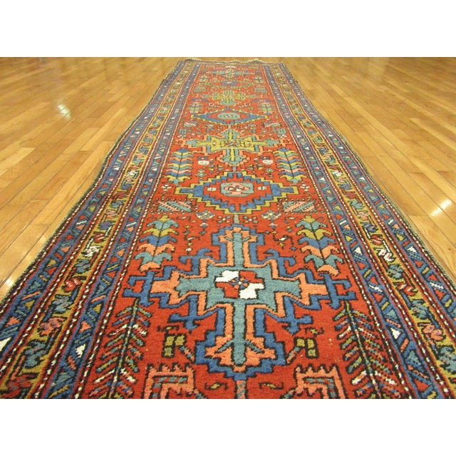 Surena Rugs Antique Handmade Persian Runner - 3' 2'' x 11' 2'' For Sale - Image 4 of 6
