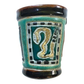 George Johnson Ceramic Cup For Sale