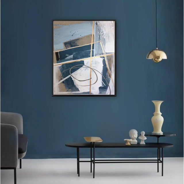 'TSCHUMi' original abstract painting by Linnea Heide - Image 3 of 7