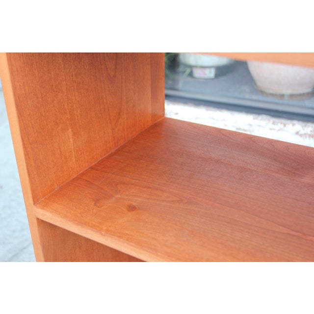 Wood Mid-Century Modern Solid Wood Hair Pin Leg Credenza For Sale - Image 7 of 12