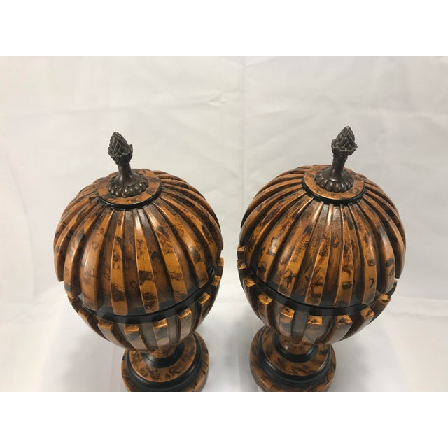 Theodore Alexander Urns - A Pair - Image 6 of 8