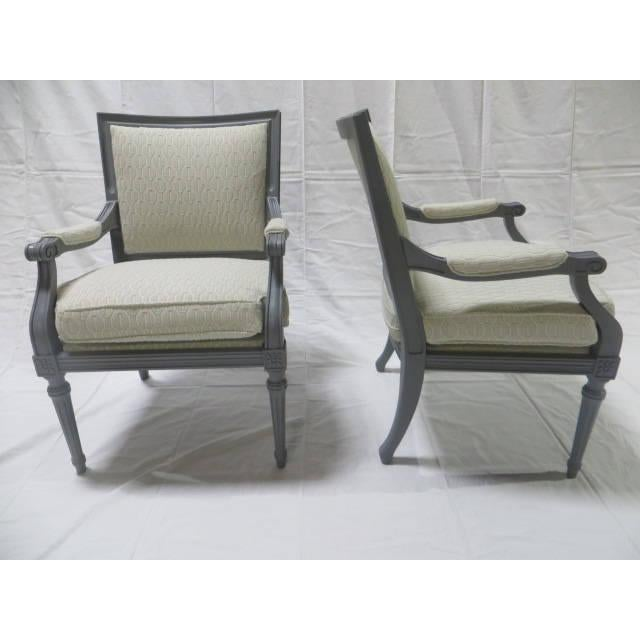French French Directoire Side Chairs - A Pair For Sale - Image 3 of 11