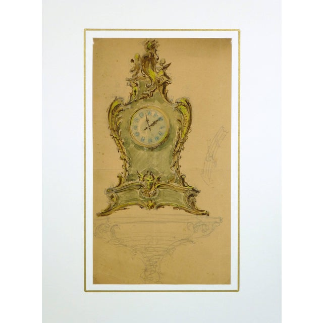 Mantel Clock For Sale - Image 4 of 5