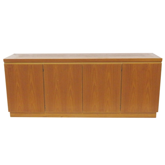 Skovby Mobelfabrik Danish Modern Teak Sideboard For Sale