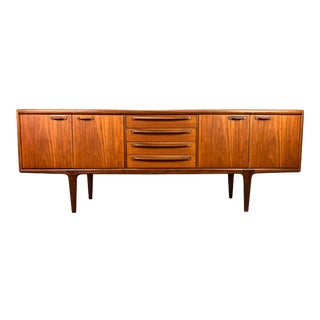 """Vintage British Mid Century Modern Teak """"Sequence"""" Credenza by A. Younger Ltd. For Sale"""
