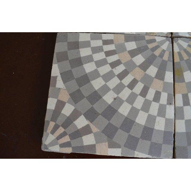 Antique Belgian Ceramic Tiles - Set of 4 - Image 7 of 11