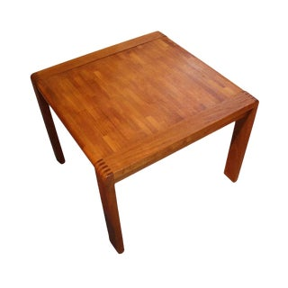 Mid-Century Modern Teak Side Table For Sale