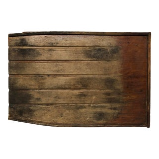 Antique Primitive Wooden Drainboard For Sale