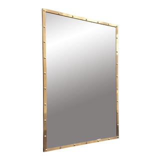 Nautical Brass Frame Mirror