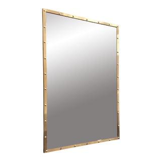 Nautical Brass Frame Mirror