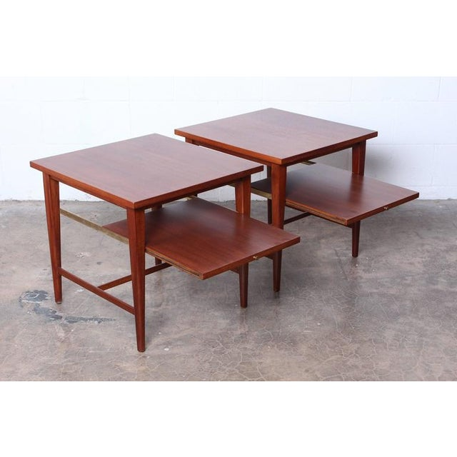 Pair of End Tables by Paul McCobb for Calvin For Sale - Image 9 of 10