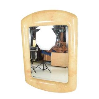 Robert Scott & Associates Inc. Mid-Century Modern Goatskin Mirror After Karl Springer For Sale