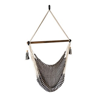 Bohemian Style Woven Hanging Chair For Sale