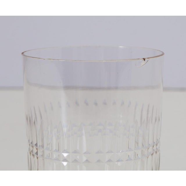 Antique Hand Cut Crystal Whiskey Tumbler Glasses - Set of 8 For Sale In Richmond - Image 6 of 6